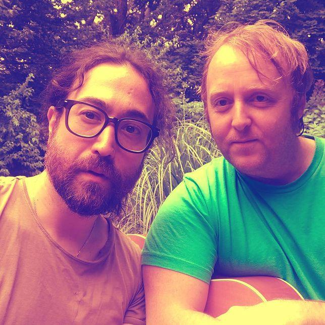 Sean Ono Lennon i James McCartney