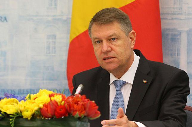 Prezydent Rumunii Klaus Iohannis