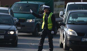 Krzeszowice. Policyjny pościg, padły strzały