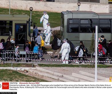 Koronawirus we Włoszech. Austria wstrzymała pociąg na kilka godzin