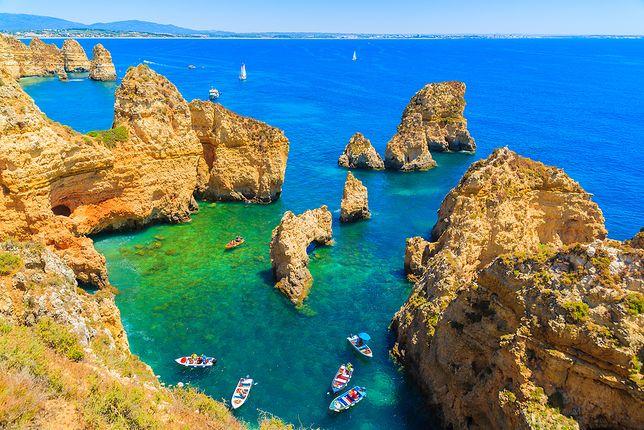 Algarve - tu znajdują się jedne z najpiękniejszych plaż na świecie