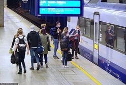 Koronawirus. Jak zarażamy się w pociągach? Naukowcy przeprowadzili analizę