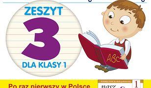 """Poznaję litery i liczby. Zeszyt 3. Ćwiczenia do """"Naszego Elementarza"""" (MEN)"""