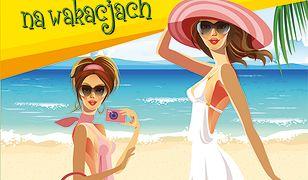 Supermodelki na wakacjach. Projektuję modne stroje