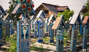 Rumunia - wesoły cmentarz w Sapancie