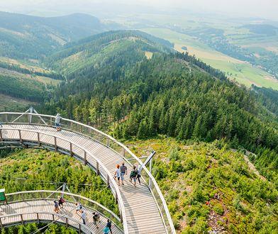 Ścieżka w Obłokach Dolni Morava w Czechach