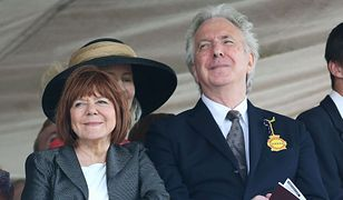 Alan Rickman i Rima Hordon