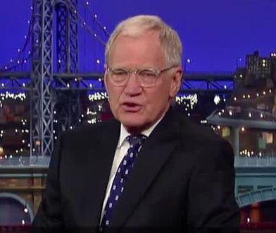 David Letterman żegna się z widzami