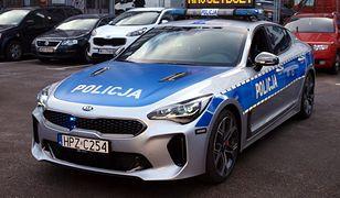 Z tym radiowozem może równać się niewiele aut na polskich drogach