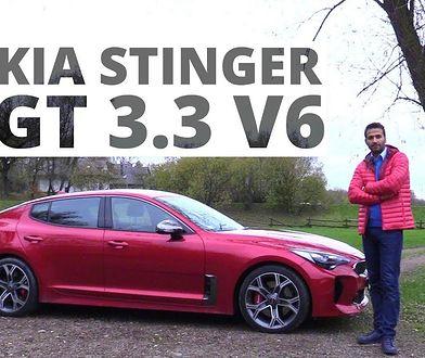 Kia Stinger GT 3.3 T-GDI 370 KM, 2017 - test AutoCentrum.pl #360