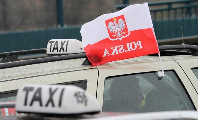 Protest taksówkarzy przeciwko deregulacji