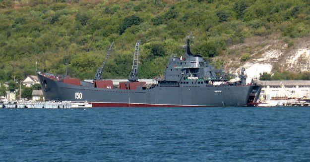 Kolejne rosyjskie okręty desantowe przeszły przez tureckie cieśniny
