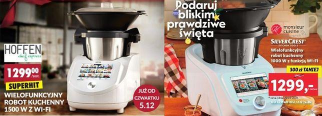 Po lewej stronie propozycja robota kuchennego Biedronki, a po prawej Lidla.