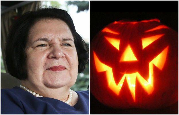 """""""Przerażające skutki"""" okultyzmu. Posłanka PiS walczy z Halloween"""