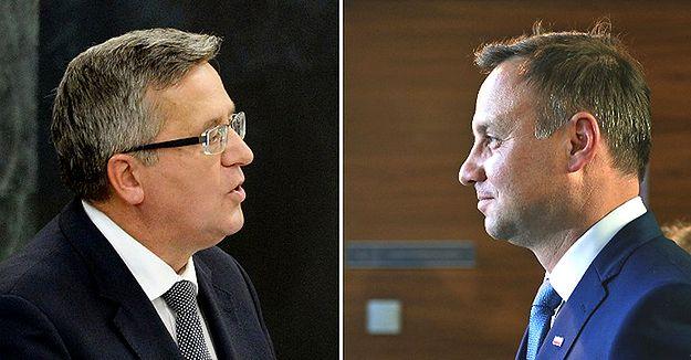 Sondaż prezydencki IBRiS: Bronisław Komorowski nieznacznie wygrywa z Andrzejem Dudą