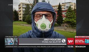 """Koronawirus. Jerzy Polaczek o koronasceptykach: """"szaleńcy"""""""
