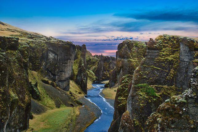 Kanion na Islandii zamknięty. Wszystko przez popularnego piosenkarza