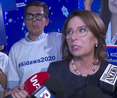 Małgorzata Kidawa-Błońska w rozmowie z WP: mam bardzo przemyślaną kampanię