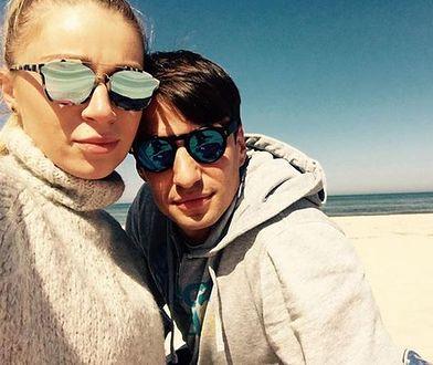 Jarosław Bieniuk i Martyna Gliwińska tworzyli piękną parę
