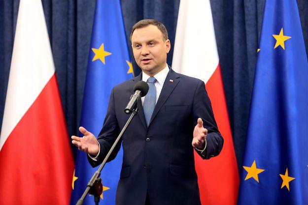 Prezydent Andrzej Duda rozmawiał z prezesem TK w Pałacu Prezydenckim