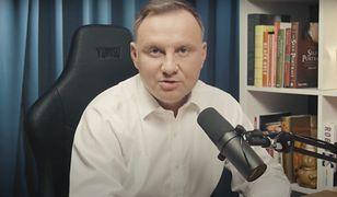 Andrzej Duda udzielił obszernego wywiadu na YouTube
