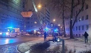 Chwile grozy w Katowicach. Mężczyzna spadł z wieżowca