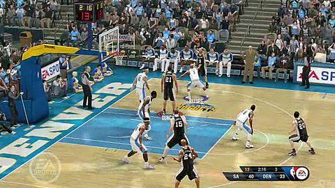 NBA Live 10 - bloki i zbiórki
