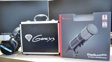 Genesis Radium 600 — średniopółkowy mikrofon dla streamera
