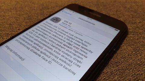 iOS 13 już do pobrania. Ogromne obciążenie serwerów