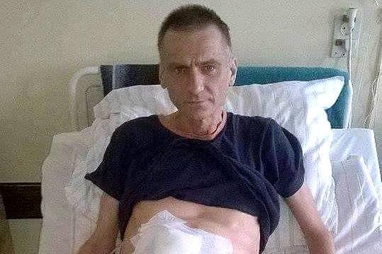 Ciężko chory Andrzej Wachocki z Katowic