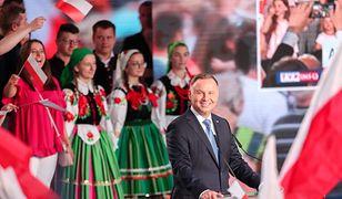 Prezydent Andrzej Duda w Łowiczu