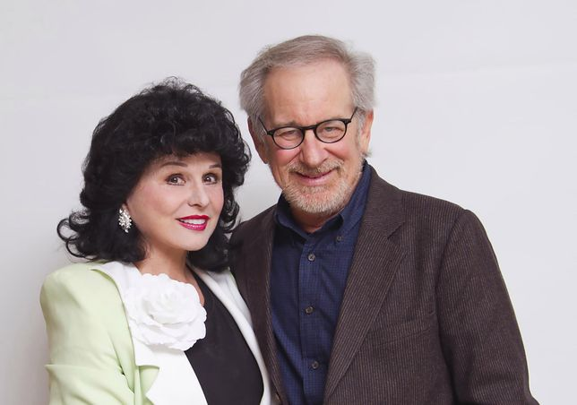 Yola Czaderska-Hayek i Steven Spielberg