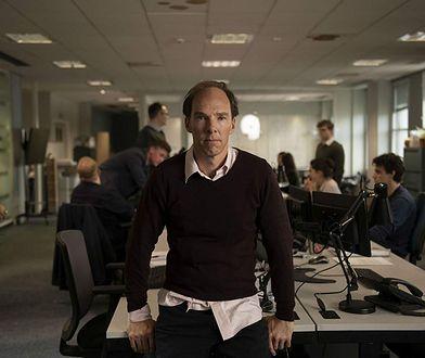 """Benedict Cumberbatch jako Dominic Cummings w filmie """"Brexit"""" (2019)"""