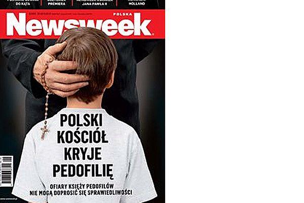"""Najnowsza okładka tygodnika """"Newsweek"""""""
