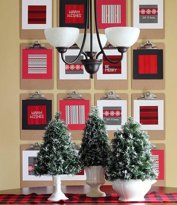 Niezwykła dekoracja domu na Boże Narodzenie
