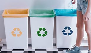 Odpowiednia pojemność i ilość pojemników ułatwi sortowanie i przechowywanie śmieci