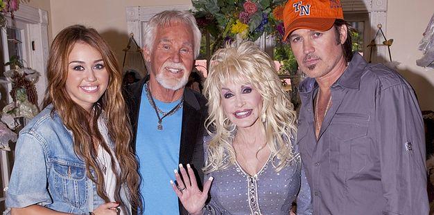 Dolly Parton martwi się o swoją chrześnicę, Miley Cyrus