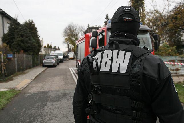 Przeszukanie posesji przez ABW miało miejsce 10 listopada w warszawskiej dzielnicy Włochy