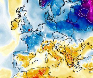 Pogoda. Wraca zima. Środa ostatnim dniem wysokich temperatur (Wxcharts)