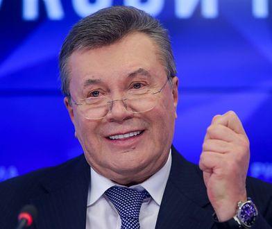 Wiktor Janukowycz został skazany na 13 lat więzienia
