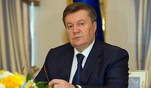 Wiktor Janukowycz uciekł z Ukrainy w lutym 2014 r.