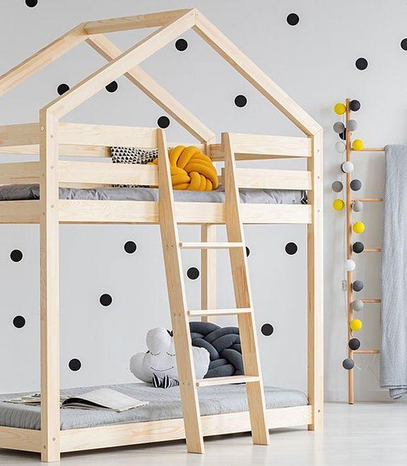Łóżko domek. Marzenie każdego dziecka
