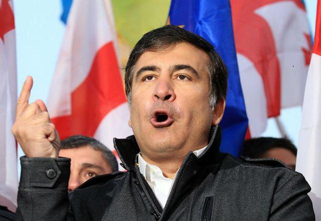 Ukraińcy uznali, że Saakaszwili znajdował się na ich terytorium nielegalnie