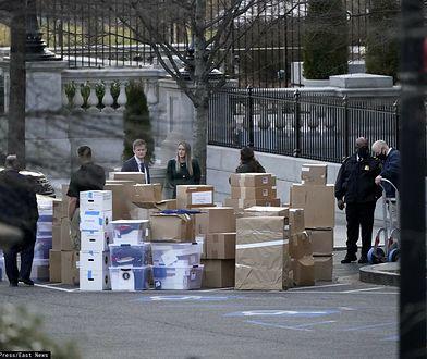 Donald Trump wyprowadza się z Białego Domu. Media obiegły zdjęcia