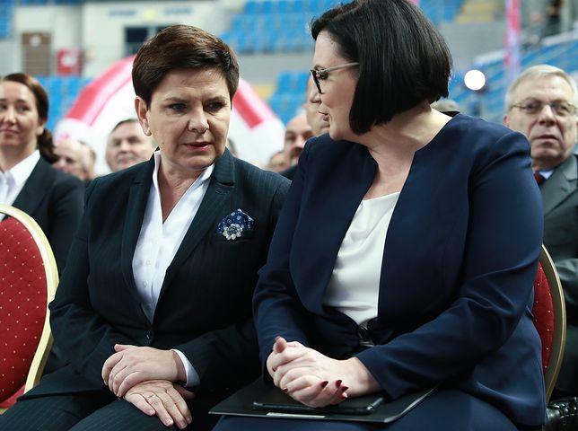 Małgorzata Sadurska i Beata Szydło
