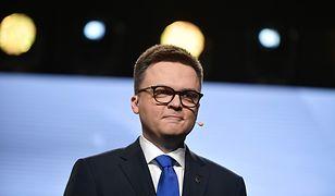 Obiecujące sondaże dla Szymona Hołowni. Mamy jego komentarz