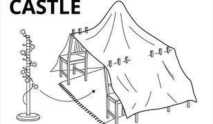"""Ikea radzi, jak zbudować """"bazę"""" dla dziecka"""