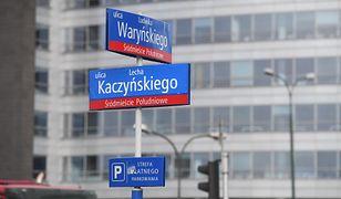 Radni PiS złożyli wniosek o ulicę L. Kaczyńskiego. Ratusz odpowiada