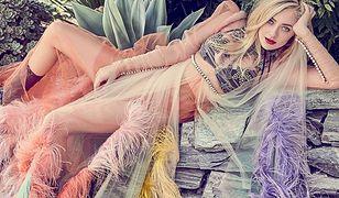 """Dakota Fanning w okładkowej sesji """"Elle Canada"""""""