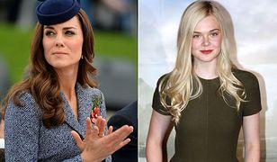 Kate Middleton i Elle Fanning są kuzynkami